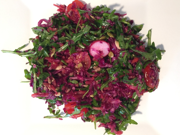 The pruple salad